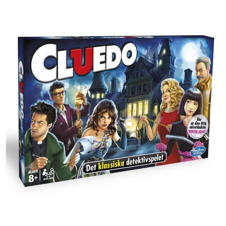 Cluedo - Det Klassiska Detektivspelet