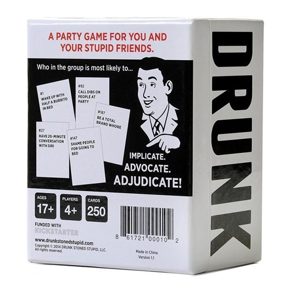 Drunk Stoned or Stupid Partyspel