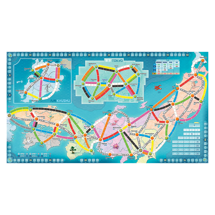 Ticket To Ride Japan