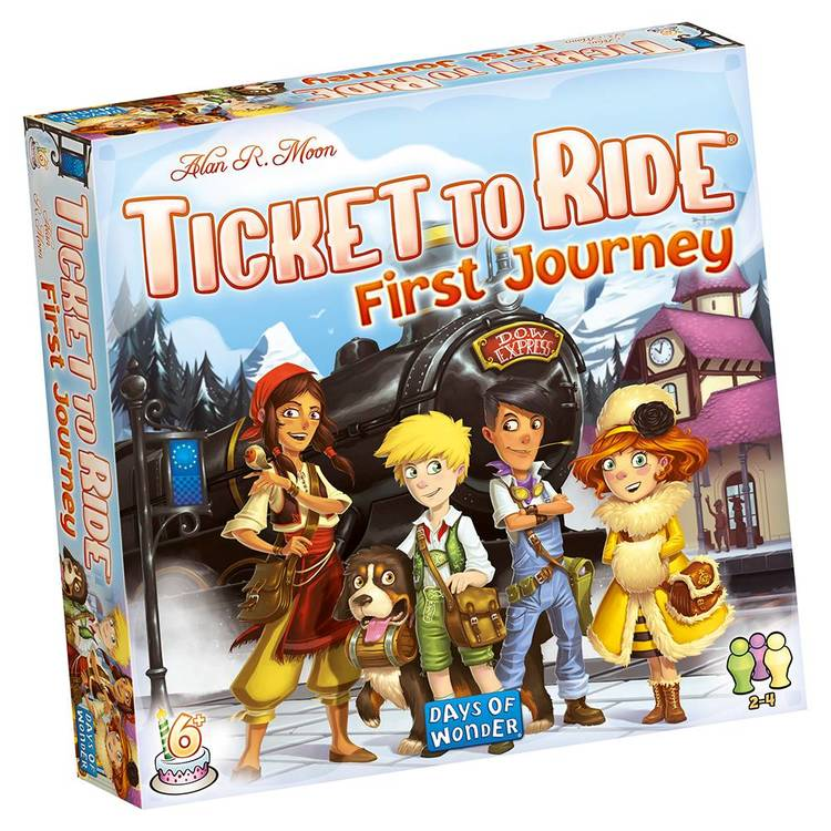 Ticket to Ride: First Journey (SWE.)