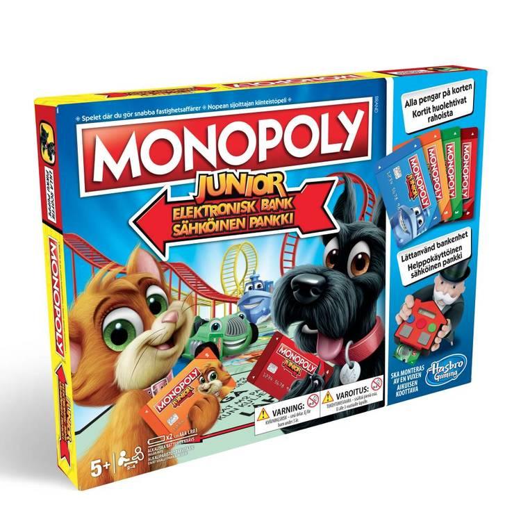 Monopoly Junior - Elektronisk Bank
