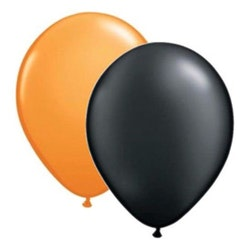 Ballonger Svarta/Orangea