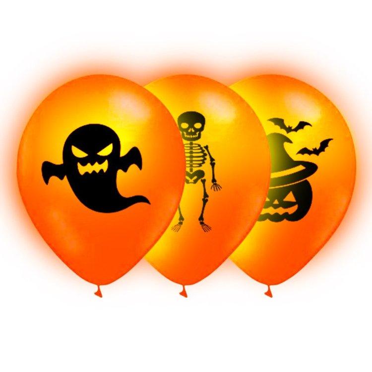 Led-Ballonger Halloween