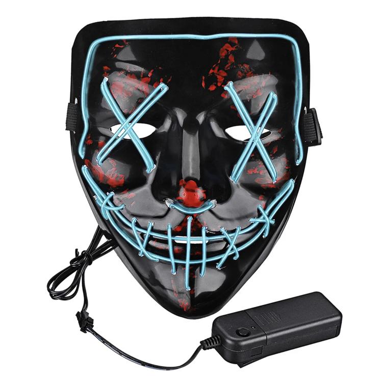 El Wire Purge LED Mask