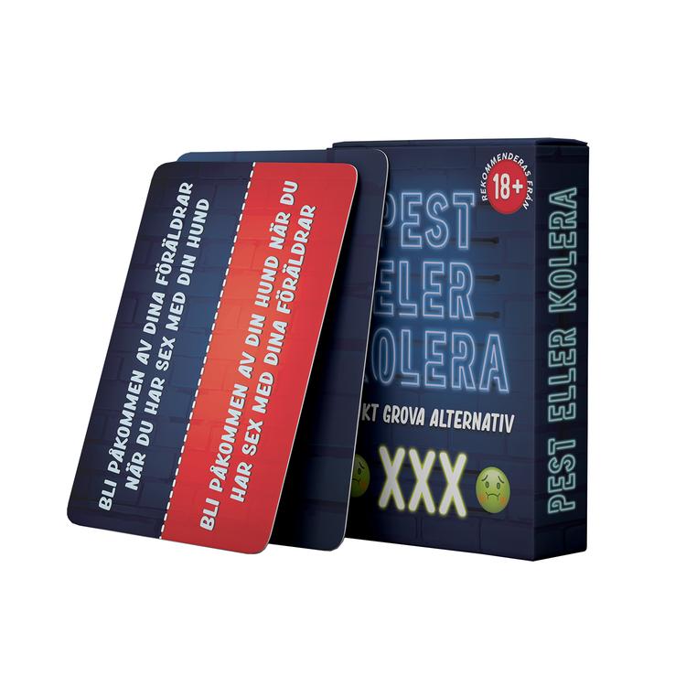 Pest eller Kolera XXX kortspel 18+