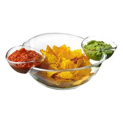 Chips- & Dipskål