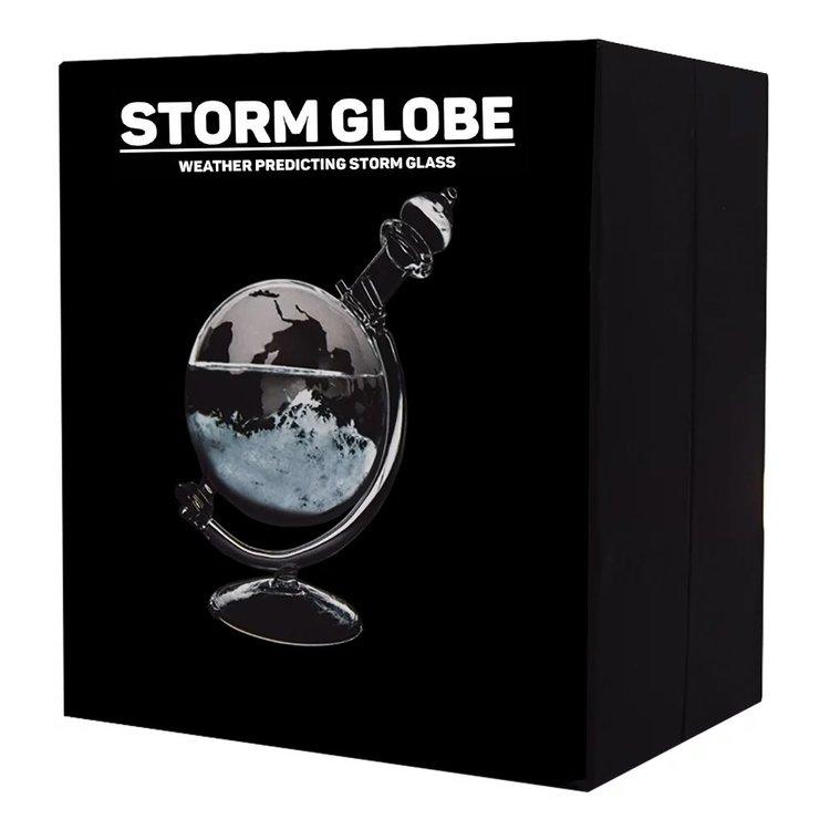 Vädervarnare Jordglob i Glas