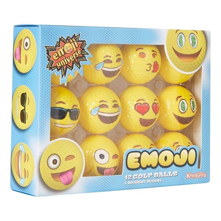 Emoji Golfbollar