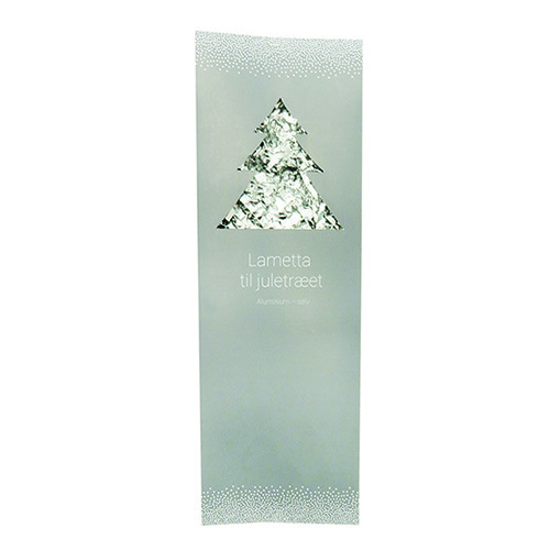 Julgranslametta Silver