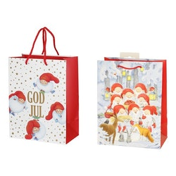 Presentpåse Julmotiv Mellan