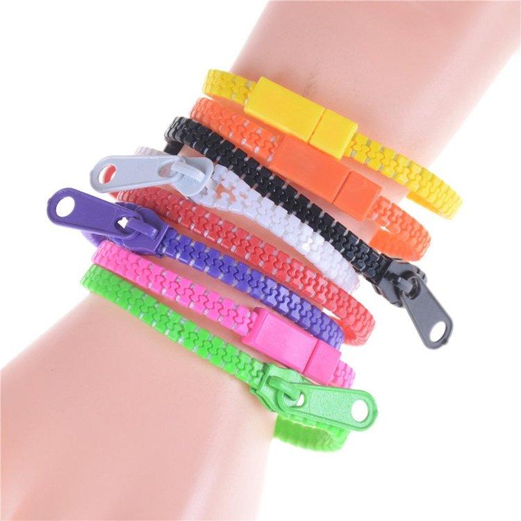 Zipper Armband Fidget