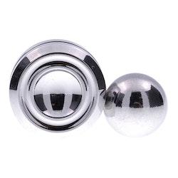 Magnetic Orbiter Silver Spinner