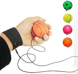 Boomerang Ball (studsboll med gummisnöre)