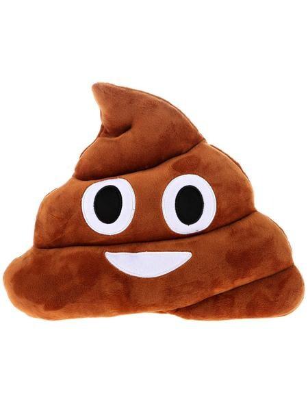 Poop Emoji Kudde