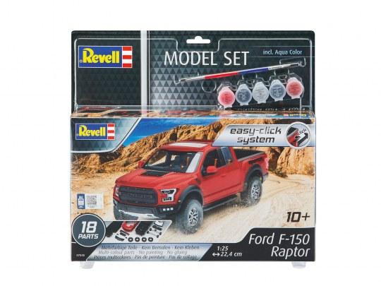 Revell Model Set  Ford F-150 Raptor
