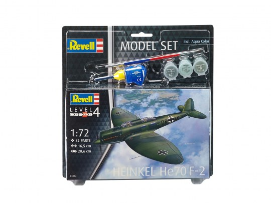 Revell Model Set Heinkel He70 F-2