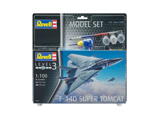 Revell Model Set F-14D Super Tomcat