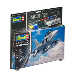 Revell Model Set Saab JAS-39D Gripen
