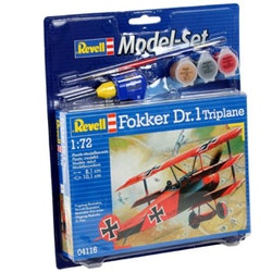 Revell Model Set Fokker DR.1 Triplane