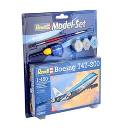 Revell Model Set Boeing 747-200 KLM