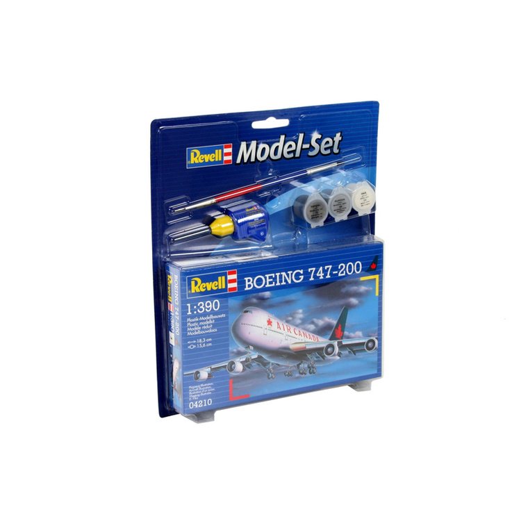 Revell Model Set Boeing 747-200 AC