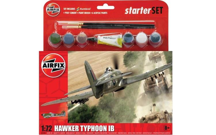 Airfix Hawker Typhoon Starterset