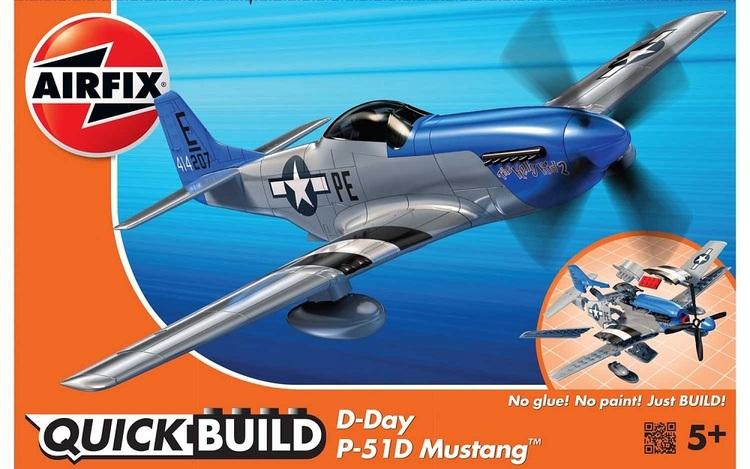Airfix Quick Build D-Day P-51D Mustang