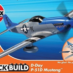 Airfix Quick Build D-Day P-51D Mustang