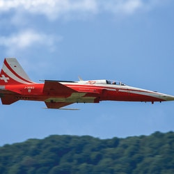 Italeri Model F-5E TIGER ll PATROUILLE SUISSE