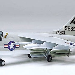 Tamiya Model L.T.V. A-7A Corsair II