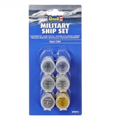 Revell Military Ship Set