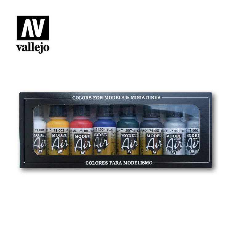 Vallejo Basic Colors 8