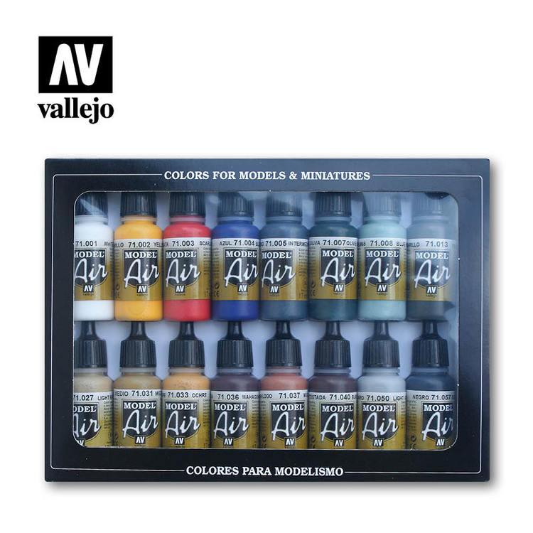Vallejo Basic Colors 16