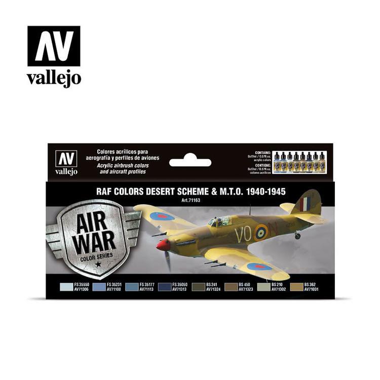 Vallejo RAF Colors Desert Scheme & M.T.O. 1940-1945