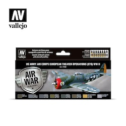 Vallejo US Army Air Corps European Theater WW II