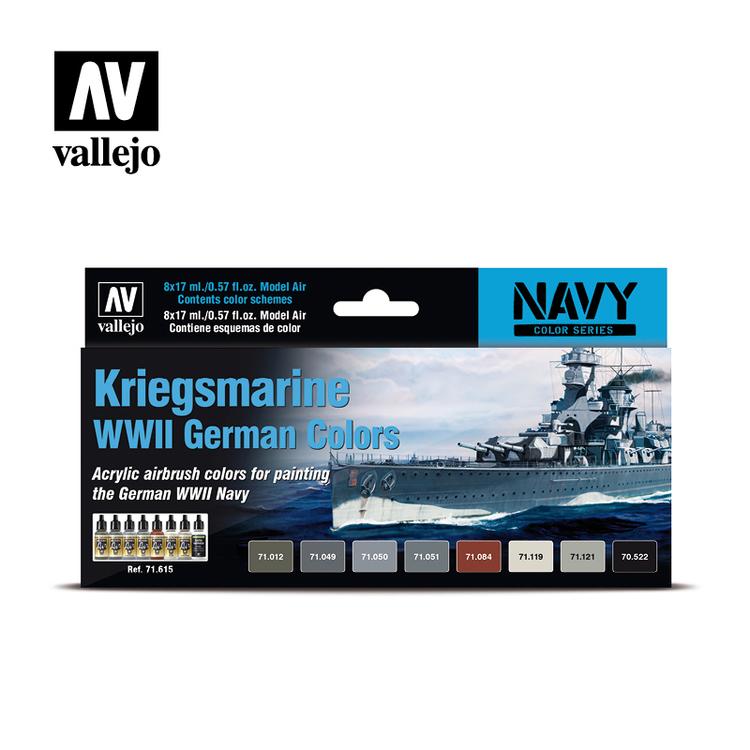 Vallejo Kriegsmarine WW II German Colors