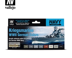 Vallejo Kriegsmarine WW II German Colors