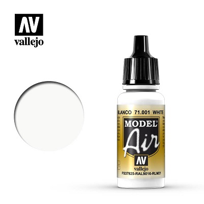 Vallejo Model Air White 71001