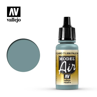 Vallejo Model Air Pale Blue 71008