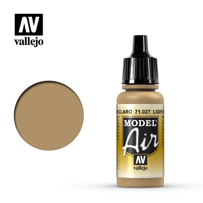 Vallejo Model Air Light Brown 71027
