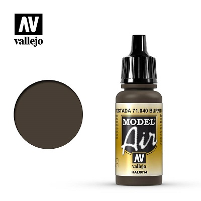 Vallejo Model Air Burnt Umber 71040