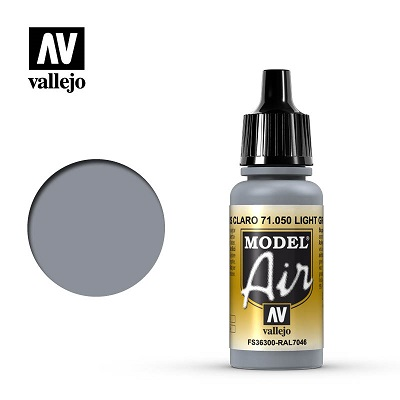 Vallejo Model Air Light Grey 71050