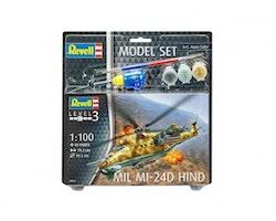 Revell Model Set Mil Mi-24D Hind