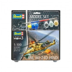 Revell Model Set Mil Mi-24D Hind