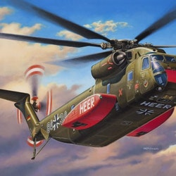Revell Model Set CH-53G Heavy Transport