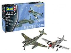 Revell Combat Set Me262 & P518