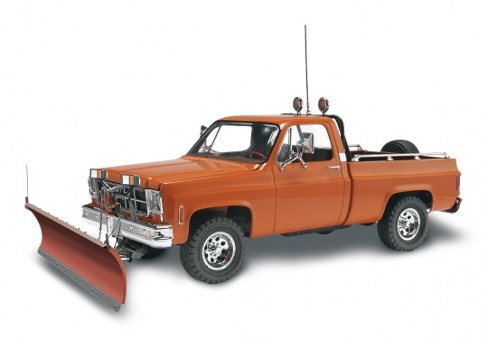 Revell GMC Pickup with Snow Plow