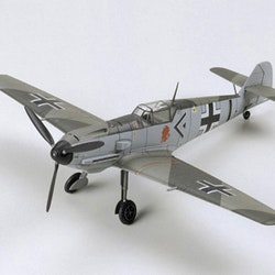 Tamiya Model Messerschmitt Bf109E-3
