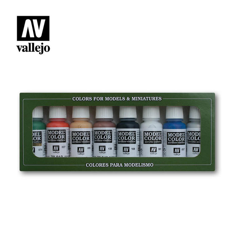 Vallejo Model Color Set Wargames Basic