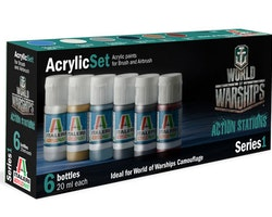 Italeri Acrylic Set World of Warships